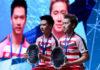 Kevin Sanjaya Sukamuljo/Marcus Fernaldi Gideon sure will guaranteed Indonesia one point through men's doubles. (photo: AP)