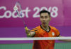 Lee Chong Wei is the center of attention at the 2018 Commonwealth Games. (photo: Bernama)
