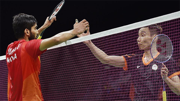 Lee Chong Wei sets up a mouth-watering clash with World No. 1 Kidambi Srikanth in the Commonwealth Games final. (photo: AP)
