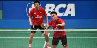 Tan Boon Heong and Hendra Setiawan were ranked World No. 20 at the end of 2017. (photo: AP)