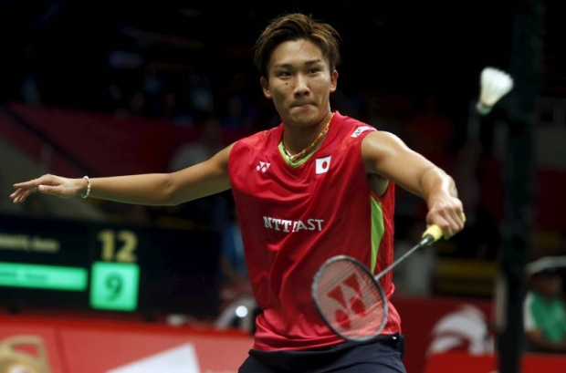 Kento Momota is making an impressive return to top-tier badminton. (photo: AP)
