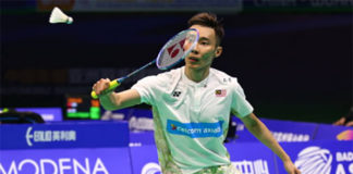 Lee Chong Wei named in Malaysia's Thomas Cup team. (photo: AFP)