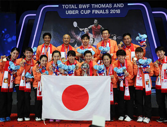 Congratulations to Park Joo-bong (top row, second from right) for his remarkable coaching record. (photo: AP)