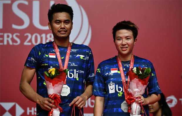 Tontowi Ahmad/Liliyana Natsir will be the center of attraction at the 2018 Singapore Open. (photo: AFP)