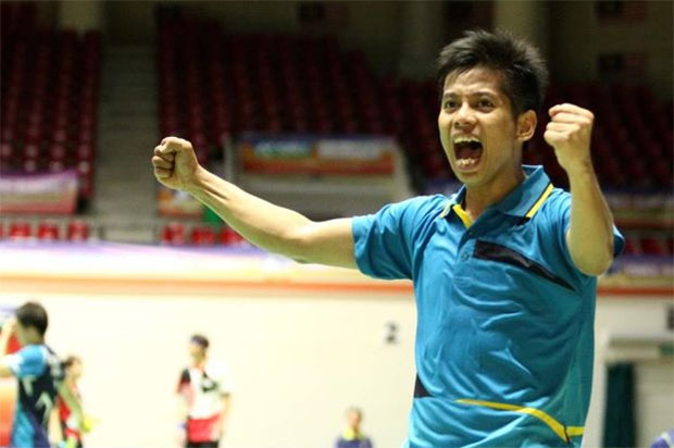 Frankly, the whole BAM management and some coaches should be fired instead of good players such as Mohd Arif Latif, and other young men's singles shuttler. (photo: Bernama)