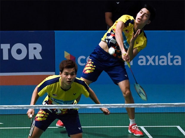 Ong Yew Sin/Teo Ee Yi produce a brilliant performance in the first round of Malaysia Open. (photo: Bernama)