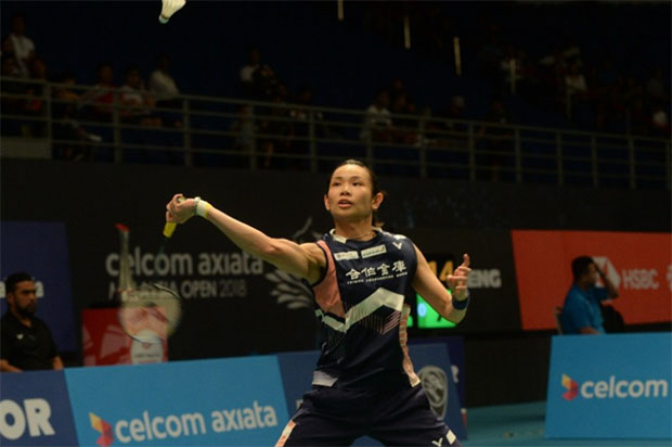 Tai Tzu Ying continues her hot form at Malaysia Open. (photo: Bernama)