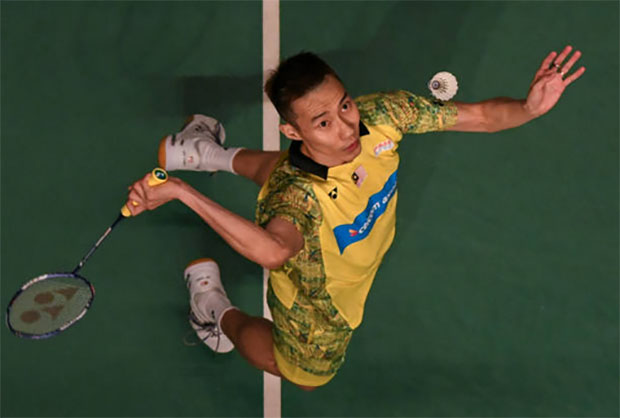 Lee Chong Wei has a 16-0 career meeting record against Tommy Sugiarto ahead of the Malaysia Open semi-final. (photo: AP)