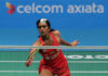 PV Sindhu secures a spot in the Malaysia Open semi-final. (photo: AP)