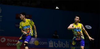 Goh V Shem/Tan Wee Kiong struggle to find their groove. (photo: AP)