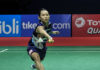 Tai Tzu Ying has an 8-0 career meeting records against Chen Yufei ahead of Sunday's Indonesia Open final. (photo: AFP)