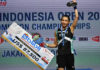 Tai Tzu Ying has been virtually unbeatable so far this year. (photo: AFP)