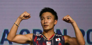 Kento Momota has high chance of winning this year's World Championships. (photo: AFP)