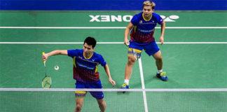 Wish Teo Ee Yi/Ong Yew Sin good luck at the 2018 Asian Games. (photo: Bernama)