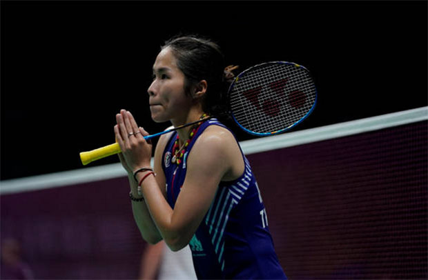 Ratchanok Intanon has good chance of leading Thailand into the Asian Games badminton women's team final. (photo: AFP)