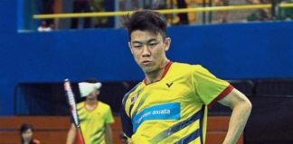 Lee Zii Jia meets Son Wan Ho in the 2018 Asian Games men's singles round of 16. (photo: Bernama)