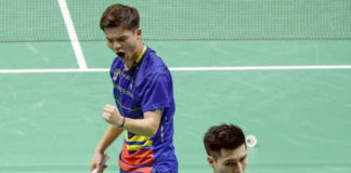 Teo Ee Yi/Ong Yew Sin enter Asian Games quarter-finals. (photo: Bernama)