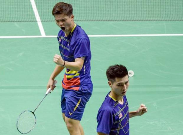 Teo Ee Yi/Ong Yew Sin enter Asian Games quarter-finals. (photo: Bernama)