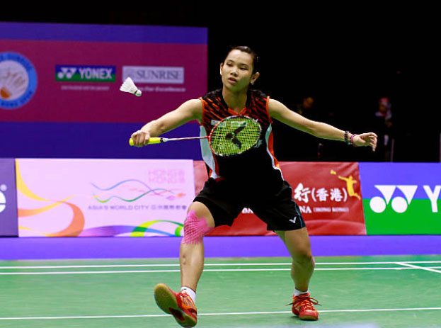 Tai Tzu Ying is aiming for the Asian Games gold medal. (photo: AFP)