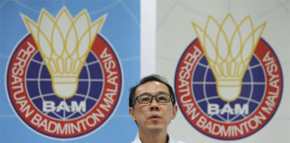 Ng Chin Chai who is also the BAM secretary. (photo: Bernama)