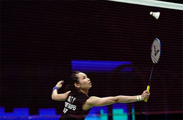 Tai Tzu Ying could face PV Sindhu in the Japan Open semi-final. (photo: AFP)
