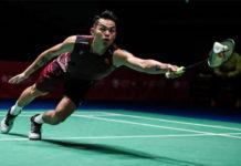 Lin Dan to play Kento Momota the 2018 Japan Open quarter-final.(photo: AFP)