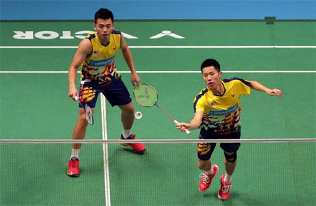 Goh V Shem/Tan Wee Kiong could face Marcus Fernaldi Gideon/Kevin Sanjaya Sukamuljo in China Open quarter-finals. (photo: AFP)