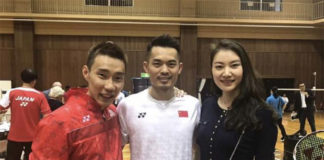 Lin Dan sends Lee Chong Wei well wishes for quick recovery and good health. (photo: Lee Chong Wei's FB)