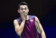 As long as Lin Dan can maintain his relatively good BWF ranking, he is going to take it easy until the next Olympic. (photo: AFP)