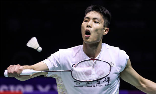 Chou Tien-Chen reaches men's singles final at 2018 Korea Open. (photo: AFP)