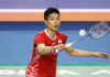 Chou Tien-Chen is very likely to win the Chinese Taipei Open. (photo: AFP)