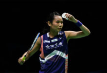 Tai Tzu Ying is strong favorite at the 2018 Chinese Taipei Open. (photo: AFP)