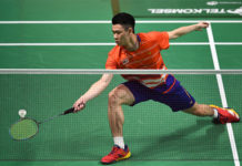 Can Lee Zii Jia pulls off an upset against Chou Tien Chen in the 2018 Chinese Taipei Open semis? (photo: AFP)