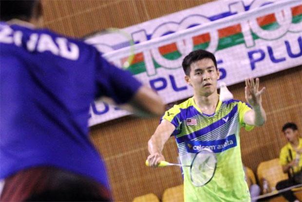 Cheam June Wei enters 2018 Dutch Open second round. (photo: Bernama)