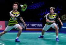 Badminton Video - 2018 Denmark Open QF - Marcus Fernaldi Gideon/Kevin Sanjaya Sukamuljo (Indonesia) vs. Takuro Hoki/Yugo Kobayashi (Japan)