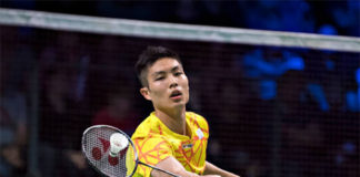 Badminton Video - 2018 Denmark Open QF - Chou Tien Chen (Chinese Taipei) vs. Son Wan Ho (Korea)