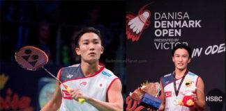 Kento Momota pockets USD $54,250 by winning the 2018 Denmark Open title. (photo: AFP)
