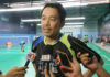 Rashid Sidek has high hope for Wong Choong Hann. (photo: Bernama)