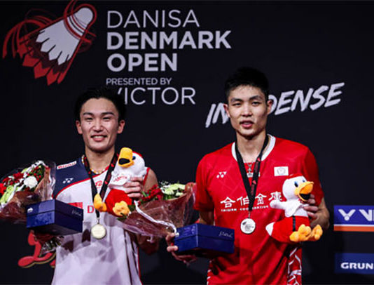 Badminton Video - 2018 Denmark Open Final - Kento Momota vs. Chou Tien Chen