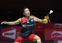 Kento Momota is truly unstoppable this season. (photo: AFP)