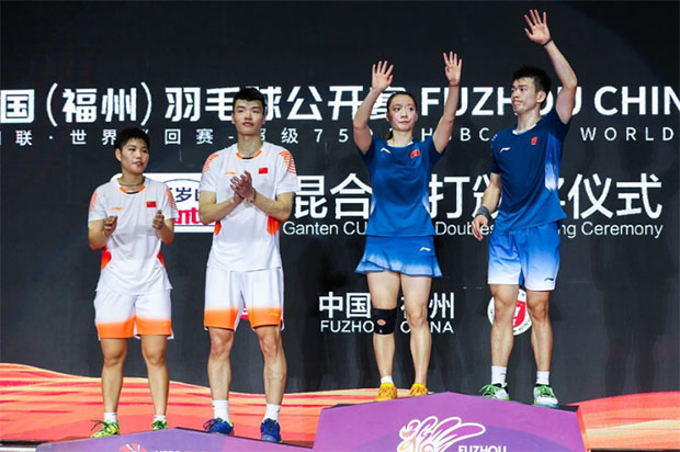 Red-hot Zheng Siwei/Huang Yaqiong win China Open. (photo: AFP)