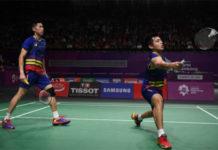Goh V Shem/Tan Wee Kiong crash out in 2018 Hong Kong Open second round. (photo: AFP)
