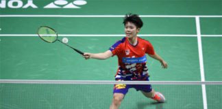 Wish Goh Jin Wei good luck in the 2018 World Junior Championships final. (photo: AFP)