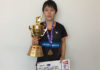 Congratulations pour in for Goh Jin Wei after winning her second World Junior title on Sunday. (photo: Badminton Canada)