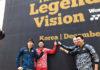The Legends' Vision in Korea - Lee Yong-Dae, Lin Dan, Peter Gade, Taufik Hidayat (from Left). (photo: Yonex)