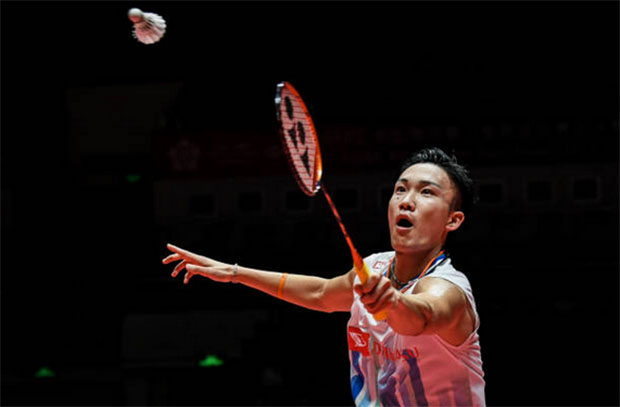 Kento Momota is the biggest attraction in the new Purple League season. (photo: AFP)