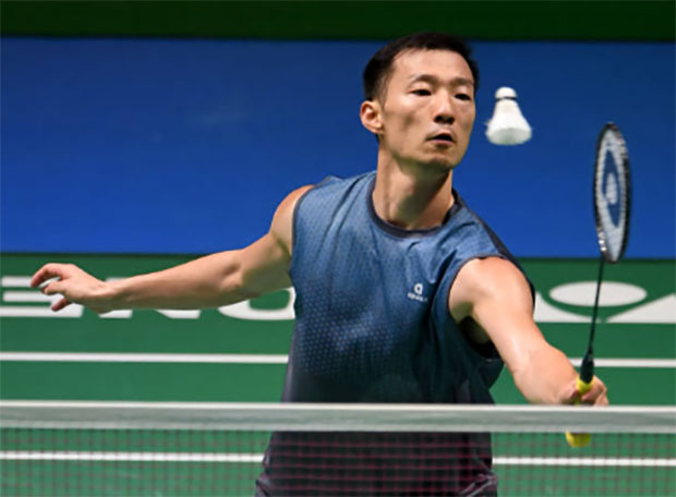 Lee Hyun-il has defied the years and badminton logic for a long time. (photo: AFP)