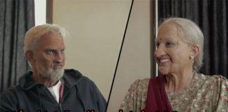 Kidambi Srikanth and Ashwini Ponnappa dressing up as old people. (photo: Red bull)