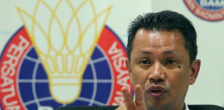 BAM president Norza Zakaria (R) remains positive about the future of BAM. (photo: AFP)