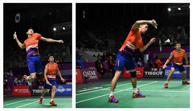 Goh V Shem/Tan Wee Kiong enter Thailand Masters second round. (photo: AFP)